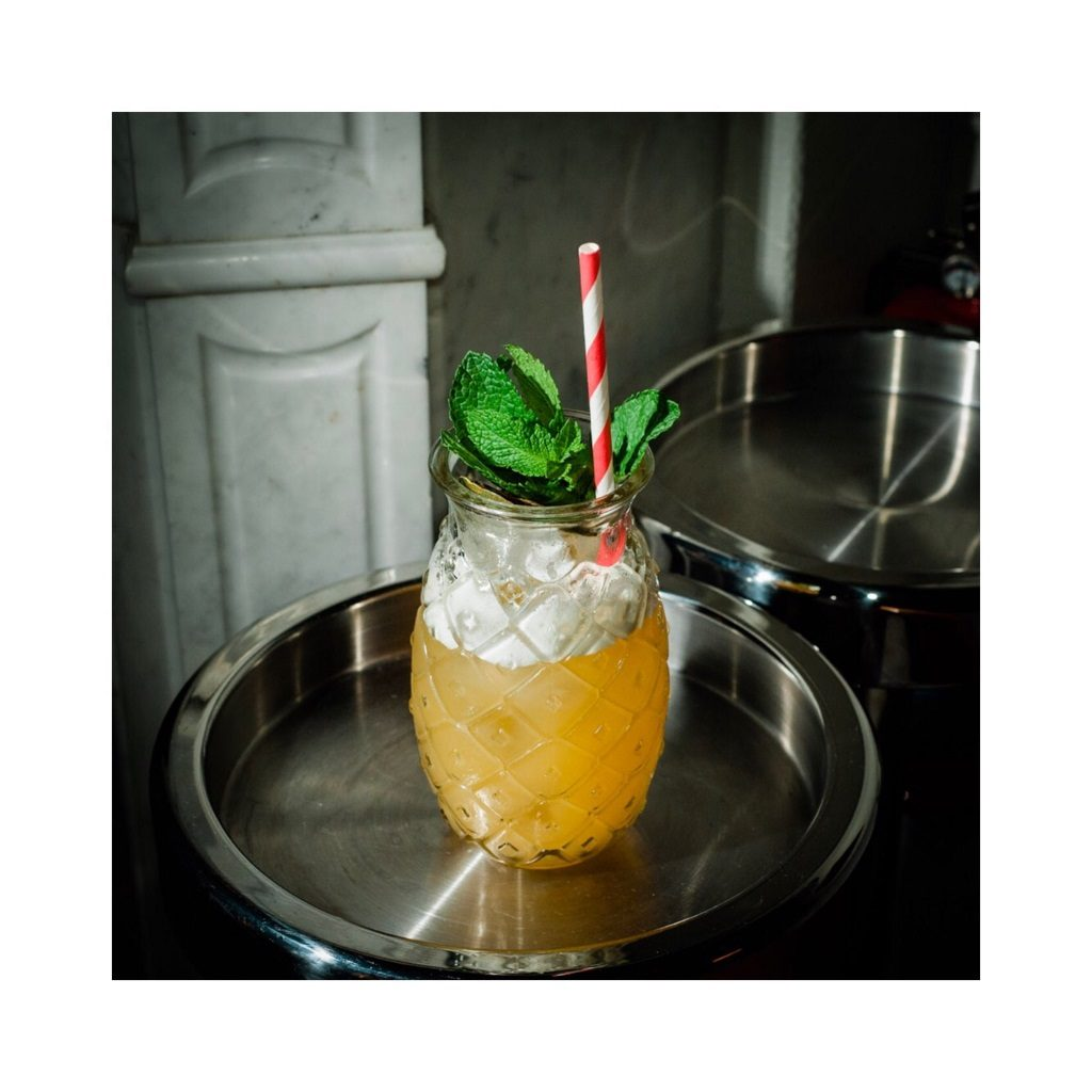 Mai Ta(ish) cocktail from Kester Thomas containing Gnista Floral Wormwood