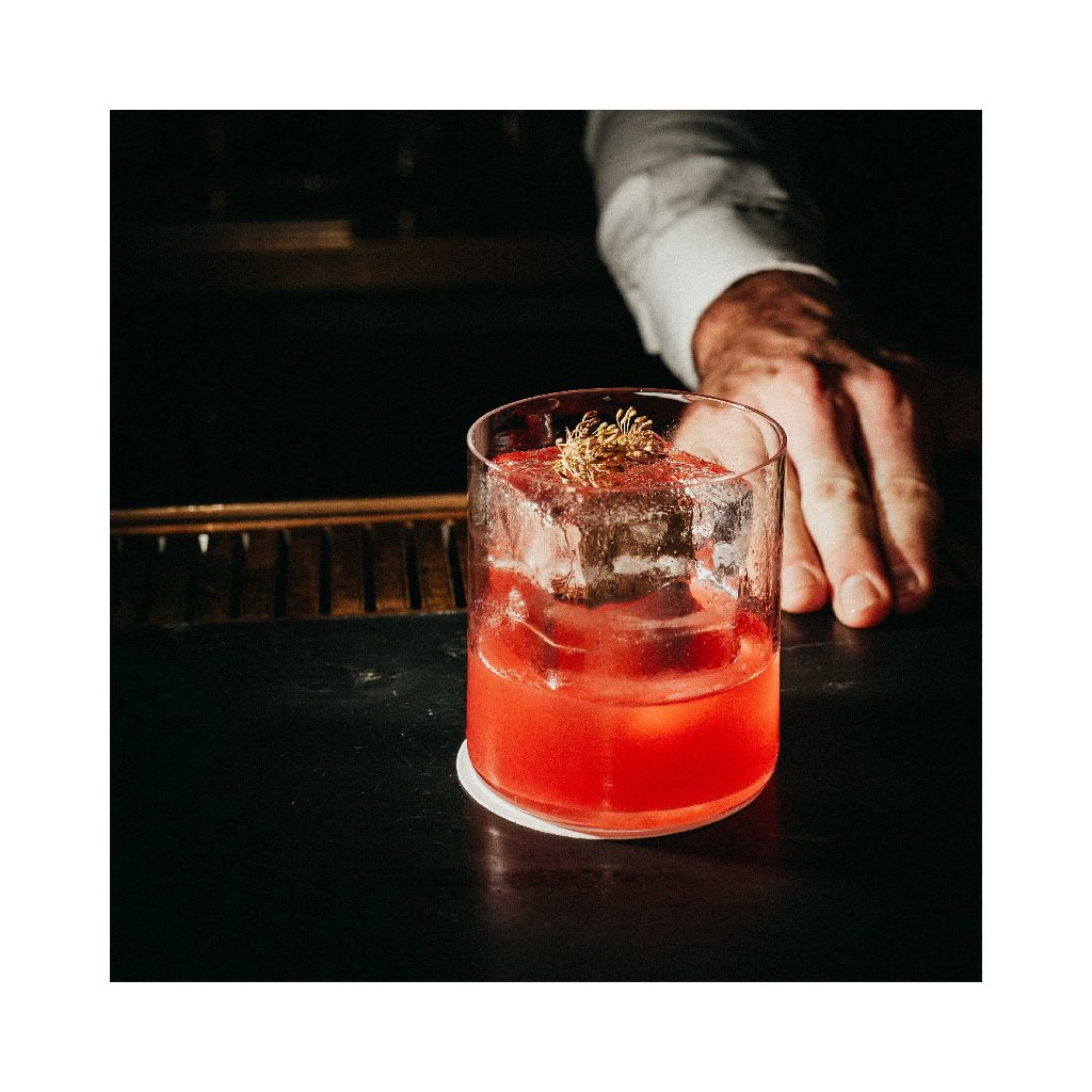 Bitter Strawberry drink from Tata Copenhagen