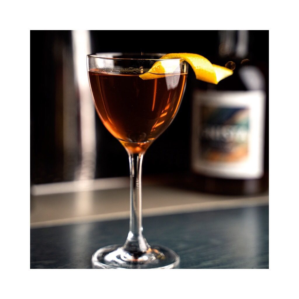 Gnista Plugg by TAK Stockholm, a cocktail with Gnista Floral Wormwood