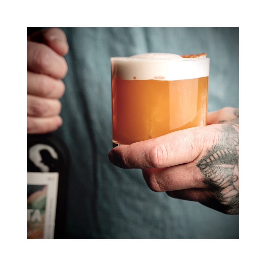 Twinkle Twinkle by TAK Stockholm, a cocktail with Gnista Floral Wormwood